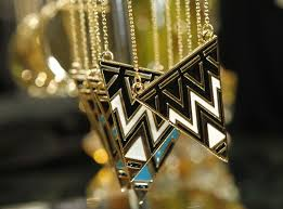 gorgeous geometric jewels with a hint of egyptian inspiration