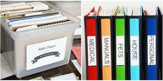how to organize ideas how to organize your papers home paperwork organization ideas