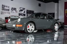 porsche 911 turbo 1994 slate grey 1994 porsche 911 turbo for sale mcg marketplace