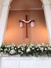 Wedding Decoration Church Ideas by Church Wedding Decorations Baptistry Floral Arrangements