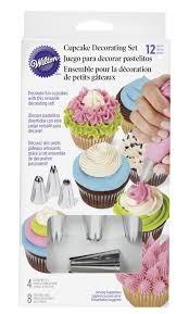 cupcake decorating tips wilton cupcake decorating set walmart canada