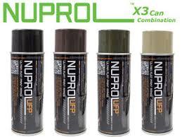 we europe nuprol ultra flat paint spray paint black tan brown