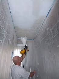 Removing Cottage Cheese Ceiling by Apply Repair Paint Remove Popcorn Ceiling South Nj
