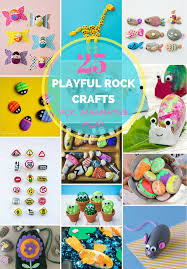 hello wonderful 25 playful rock crafts for imaginative play
