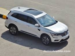 So We Got A 2017 Renault Koleos Drive Arabia