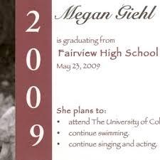 design graduation announcements lovely graduation announcement e card template design with pretty