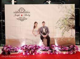 wedding backdrop malaysia purple wedding decoration at nexus connexion bangsar south