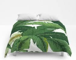 Girls Hawaiian Bedding by Banana Leaf Bedding Etsy