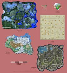 Map Of Skyrim Map Size Comparison Zelda Breath Of The Wild Vs Skyrim Vs Ark