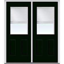 mmi door 72 in x 80 in internal blinds left hand 1 2 lite 2