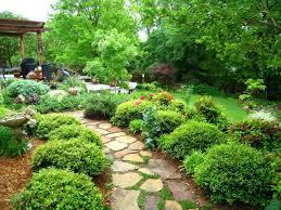 marvellous nature stone walkway as wells as outdoor garden ideas