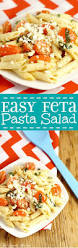 Creamy Pasta Salad Recipes by Easy Feta Pasta Salad The Gracious Wife
