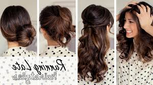 Easy Hairstyles For Medium Hair At Home by Beautiful Easy Hairstyles For Long Hair To Do At Home Images