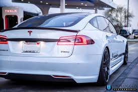 unplugged performance trunk spoiler for tesla model s