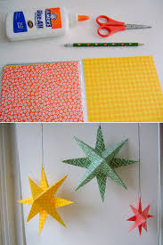 diy paper stars i want to make these and spray paint them