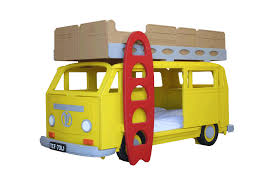 Camper Van Bay Theme Bunk Bed By Fun Furniture Collection Home Of - Kids bunk beds uk