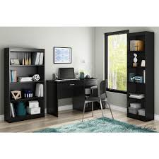 South Shore Axess Small Desk South Shore Axess Black Workstations With Storage 7270070
