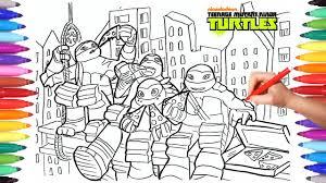 teenage mutant ninja turtles tmnt coloring pages 2 draw