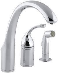 white kitchen sink faucet kohler forté 3 remote valve kitchen sink faucet with 9 spout