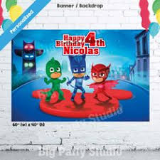 pj masks invitations 3 invitations pj mask