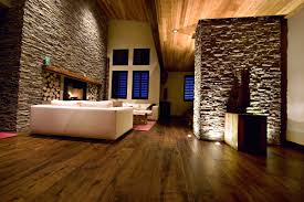 marvelous natural wooden flooring with fashionable white fabric
