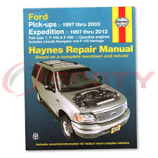 ford expedition haynes repair manual xlt el xls eddie bauer nbx
