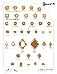 metal ornaments guyot catalog page 57