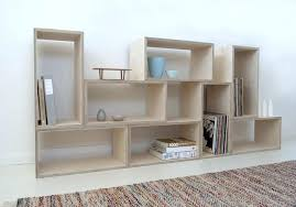 birch plywood bookcase shelving by raw edge furniture ply plywood