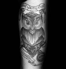 53 most wonderful time waits for no man tattoo designs u0026 ideas