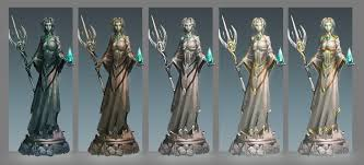 Statues Of Gods by Image Seren God Statue Concept Png Runescape Wiki Fandom