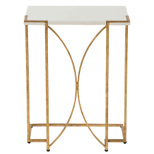 C Side Table Gabby Furniture Amber Gold C Side Table