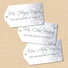 silver shimmer hang tags 2x3 5 landscape text editable in