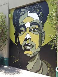 photo 9 of 12 in art and design come together in these 10 examples well known artist david flores pays tribute to mca on an atwater village wall