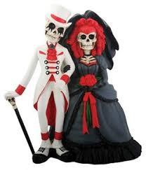 skeleton wedding cake toppers day of the dead wedding dia de los muertos wedding