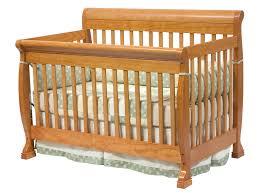 Convertable Baby Crib Davinci Kalani 4 In 1 Convertible Baby Crib In Oak W Toddler