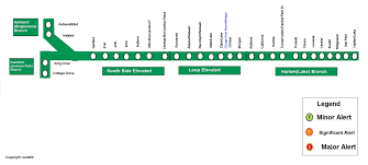 Map Of Cta Chicago by Rail Service Alerts Discussion Thread Page 2 Cta Rail