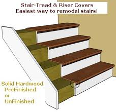 replacement stair risers and treads