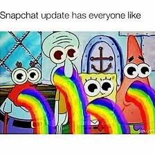 Puking Rainbow Meme - snapchat update image 3507305 by winterkiss on favim com