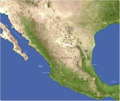 Map Of Puerto Vallarta Mexico by Mexico Satellite Image