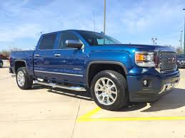 lifted gmc 2015 stone blue metallic or cobalt blue metallic post your pics