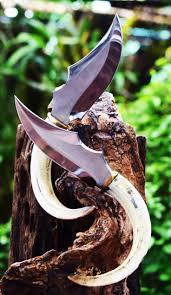 best 25 hunting knife set ideas on pinterest wedding reception hunting knife 440c warthog tusks handle set 2 pieces 99 99