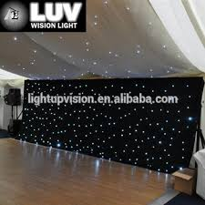 luv lhc sale led curtains and drapes for wedding decoration