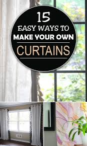 Design Your Own Curtains Easy Ways To Make Your Own Curtains