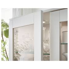 ikea glass kitchen wall cabinets brimnes glass door cabinet white 31 1 2x74 3 4 ikea