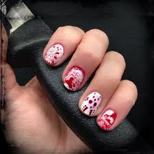 mani monday halloween nails