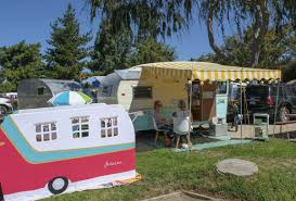 Flying Flags Rv Park Buellton Vintage Trailer Bash Travels Back In Time Local News