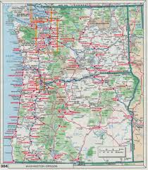 Map Of Oregon Highways by The Web Shell