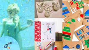 5 christmas arts and craft ideas fatema u0027s art show youtube