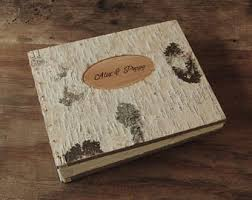 Where To Buy Wedding Albums Wedding Photo Album Unique Rustic Wood Book Tree Bark Cover