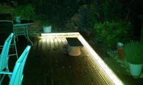 lighting up your garden with led strips